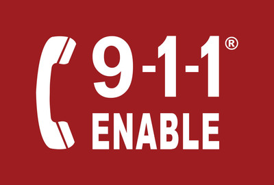 911 Enable Logo.  (PRNewsFoto/911 Enable)