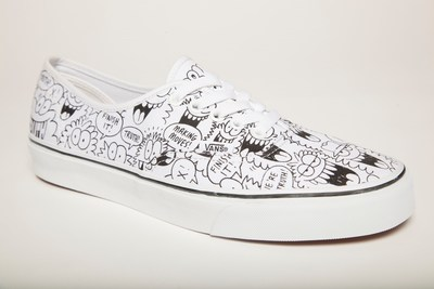 truth X Vans by Kevin Lyons - not just any old sneaker, but a piece of art you can wear.