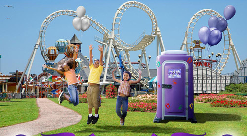 Purple Potty Portable Toilet for Kids by CALLAHEAD.  (PRNewsFoto/CALLAHEAD)