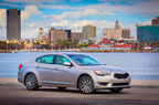 Kia is looking to impress buyers at the Chicago Auto Show where they will have two new debut vehicles and a stunning concept car, the Cross GT. Pictured is the all-new Cadenza luxury sedan.  (PRNewsFoto/Bill Jacobs Kia)