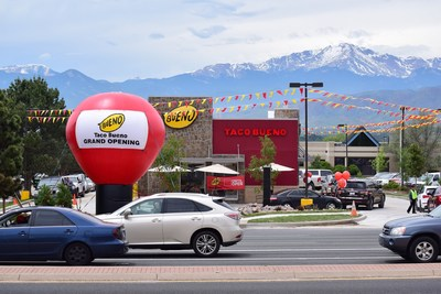 Taco Bueno's newest store in Colorado Springs, Colo.