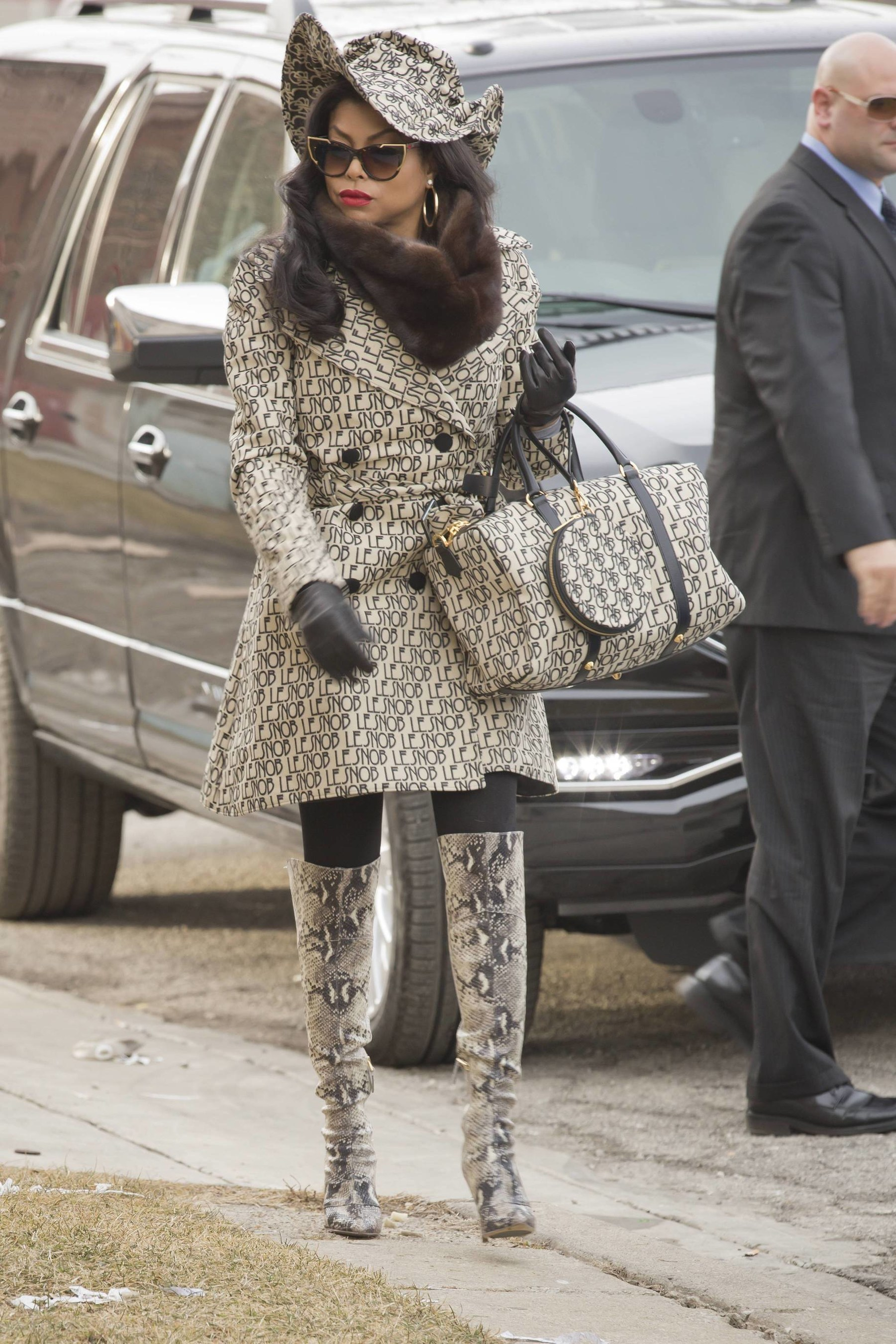 Taraji P. Henson as 'Cookie Lyons' Wears Le Snob on the Season Finale of 'Empire'