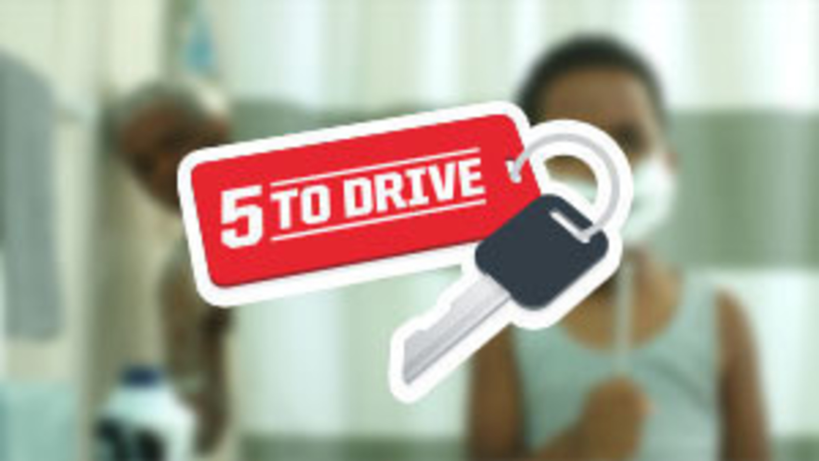 Parents of Teenagers Encouraged To Follow The '5 to Drive' Campaign