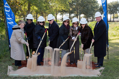 Houston Methodist breaks ground at the new Houston Methodist Cypress Emergency Care Center.