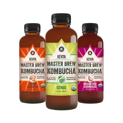 KeVita Introduces Three New Master Brew Kombucha Flavors to Kick Off National Digital and Social Campaign