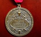 The TASTE AWARDS Medallion.  (PRNewsFoto/TasteTV)