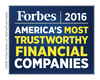 Northwest named one of American's Most Trustworthy Financial Companies by Forbes