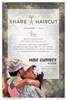 Hair Cuttery's Share-A-Haircut Program to Benefit U.S. Military Veterans