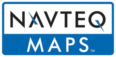 NAVTEQ Company logo.  (PRNewsFoto/NAVTEQ Maps)