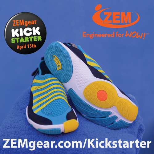 """Our """"Engineered for WOW!"""" designs apply a concept that allow your body to connect with its natural way of motion. Ultimate Performance and Comfort with the WOW factor of Total Flexibility. ZEMgear offers a unique collection of styles for all activities around Wind, Water, Sand and Land and includes shoes for Fitness, Wellness, Water-Sport, Fashion and an Active Lifestyle. (PRNewsFoto/ZEMgear)"""