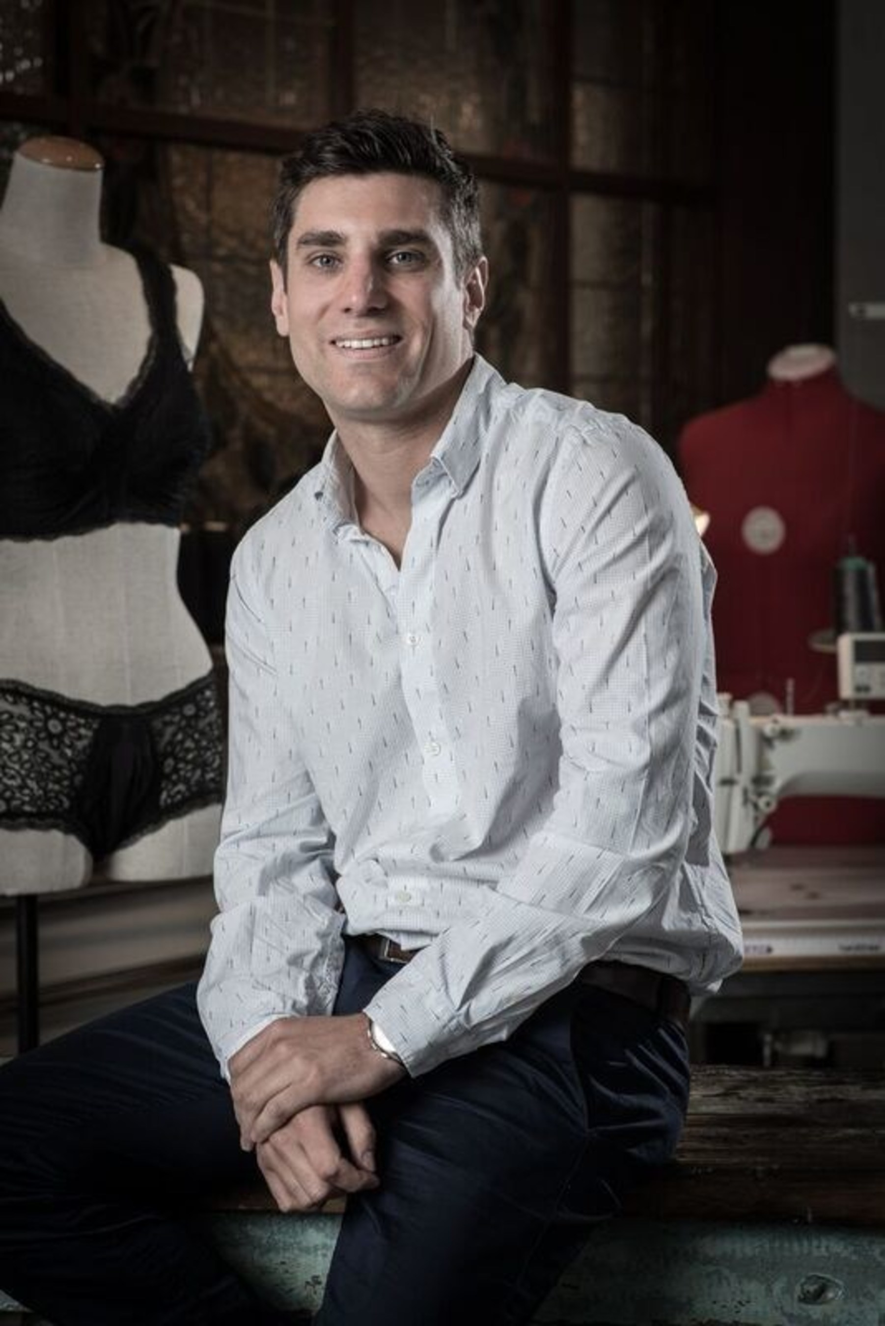 Dr. Mark Davey, co-founder and CEO of Confitex, the Confidence Undergarment Company
