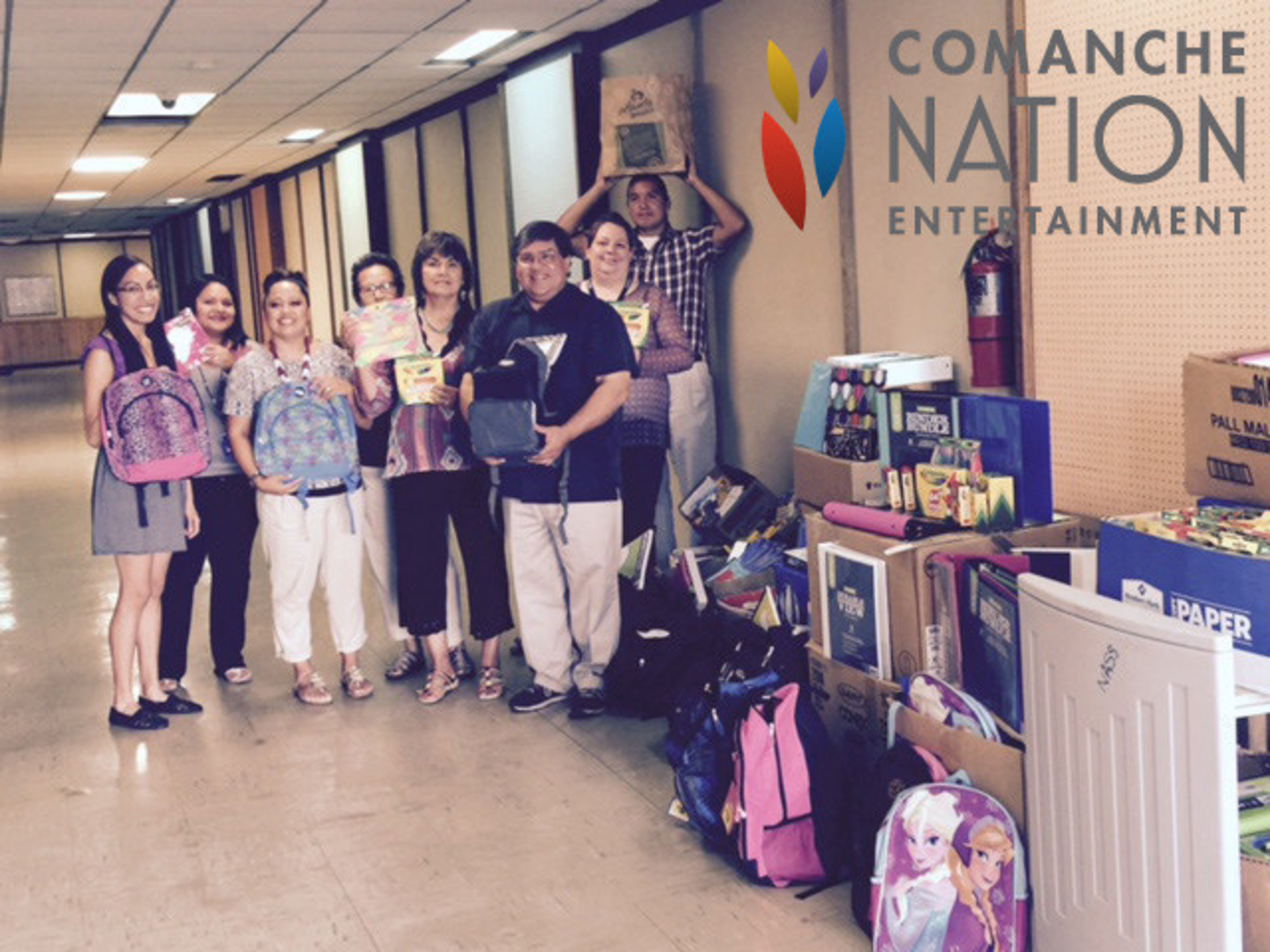 School Supplies for Oklahoma Kids Charity Event Results - Comanche Nation Entertainment