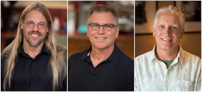 Peter Brown, Scott Hecker and Dave McMoyler Join Formosa Group (PRNewsFoto/Formosa Group)
