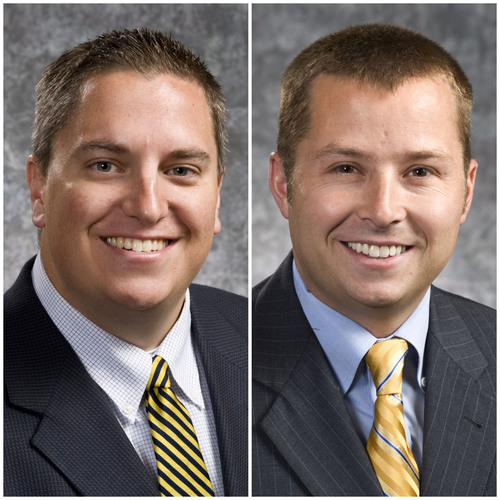 Brandon Harrison and Zach England, two current members of the C.R. England executive committee, are named to ...