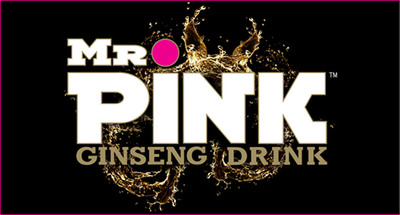 Mr. Pink Ginseng Drink Logo.  (PRNewsFoto/Mr. Pink Ginseng Drink)