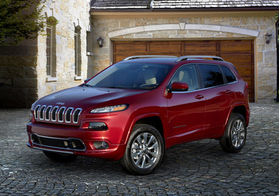 Jeep(R) expands Cherokee lineup with premium Overland model