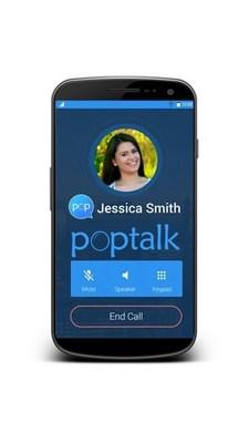 Nueva Aplicacion POPTALK se lanza justo a tiempo para las fiestas, permitiendo que usuarios de telefonos Android puedan llamar y enviar textos GRATIS a familiares en Mexico y Latinoamerica