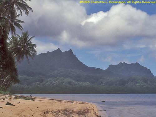 Mount Finkol on Kosrae Island (PRNewsFoto/Kosrae Visitors Bureau)