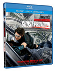 Tom Cruise Leads A Sensational International Cast In The Most Spectacular Action Movie Of The Year MISSION: IMPOSSIBLE - GHOST PROTOCOL - Debuting on Blu-ray(TM) and DVD April 17, 2012.  (PRNewsFoto/Paramount Home Media Distribution)