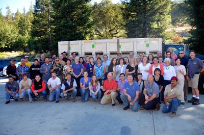 The Joseph Phelps Vineyards 2012 Napa Valley Harvest Photo (courtesy of Michael Cawelti).  (PRNewsFoto/Joseph Phelps Vineyards)