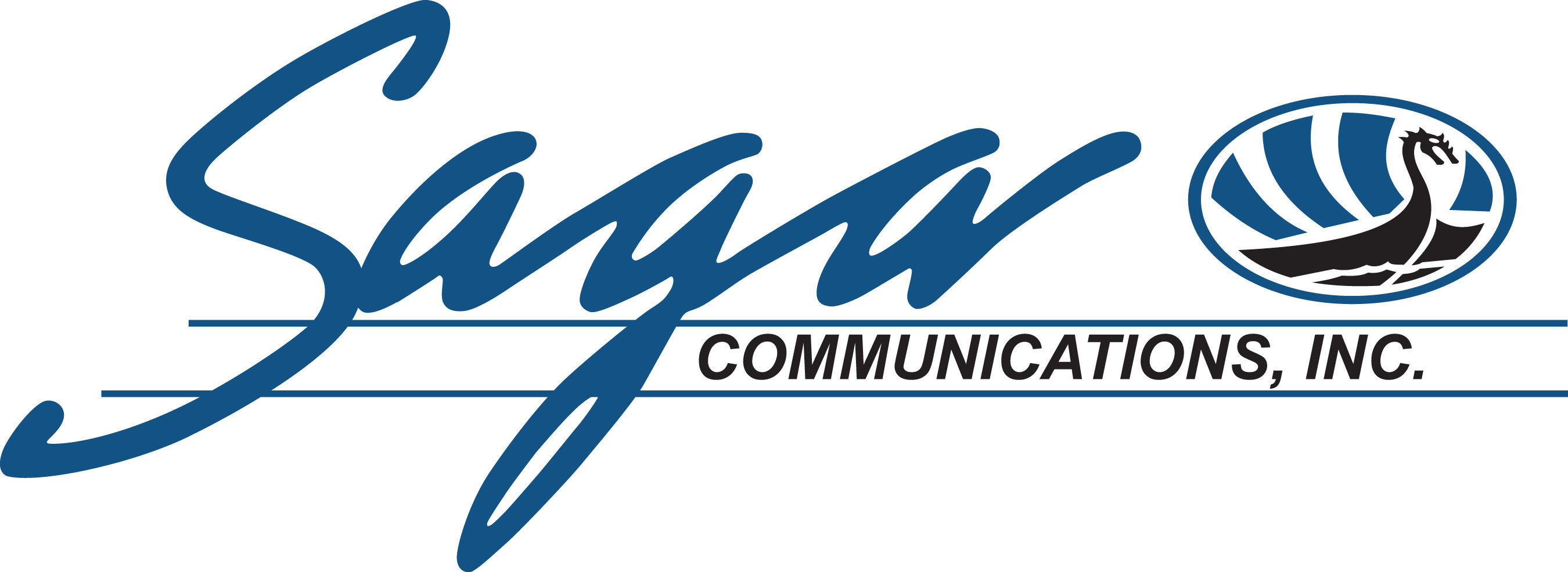 Saga Communications, Inc. logo.