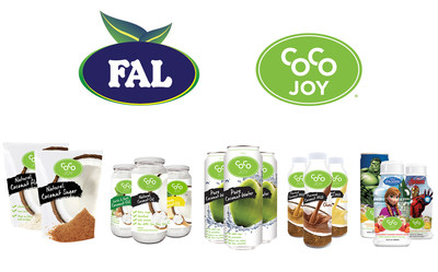 FAL Group Announces Launch Of Coco Joy All-Natural Coconut Product Portfolio