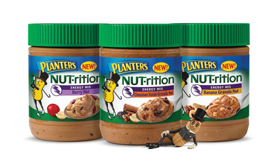 Planters Revolutionizes Peanut Butter with New NUT-rition Line.  (PRNewsFoto/Planters)