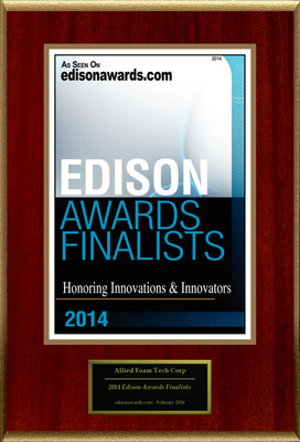 "Allied Foam Tech Corp. Selected For ""2014 Edison Awards Finalists"""