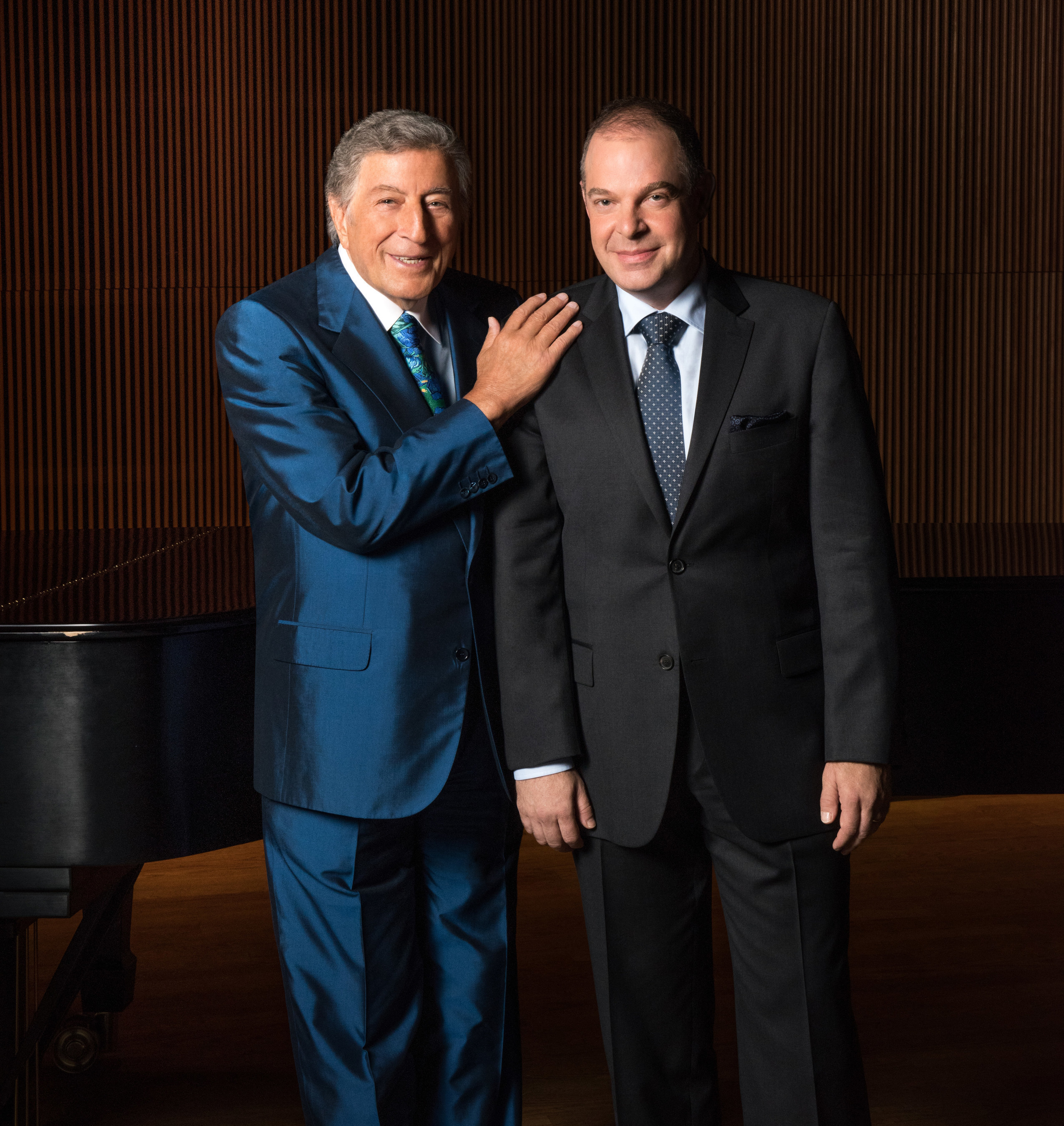 Photo Credit: Kelsey Bennett Music Legend Tony Bennett and Jazz Pianist Bill Charlap Record The Silver Lining: The Songs of Jerome Kern