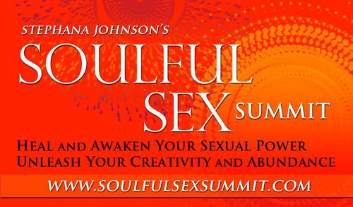 Soulful Sex Summit Free Virtual Event. (PRNewsFoto/Stephana Johnson) (PRNewsFoto/STEPHANA JOHNSON)