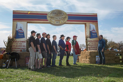 America's top eight competition barbecue teams faced off last November at the first annual Kingsford(R) Invitational Barbecue Competition.  (PRNewsFoto/The Clorox Company)