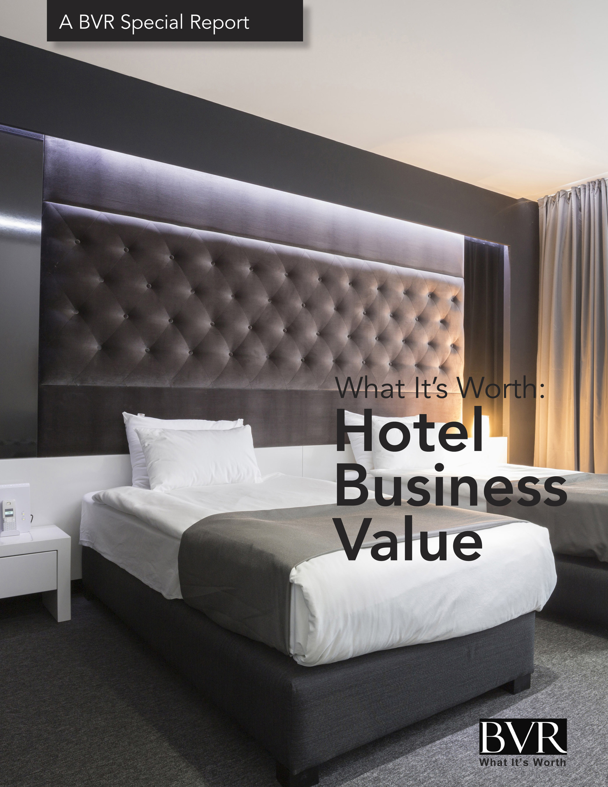 New special report: What It's Worth: Hotel Business Value.