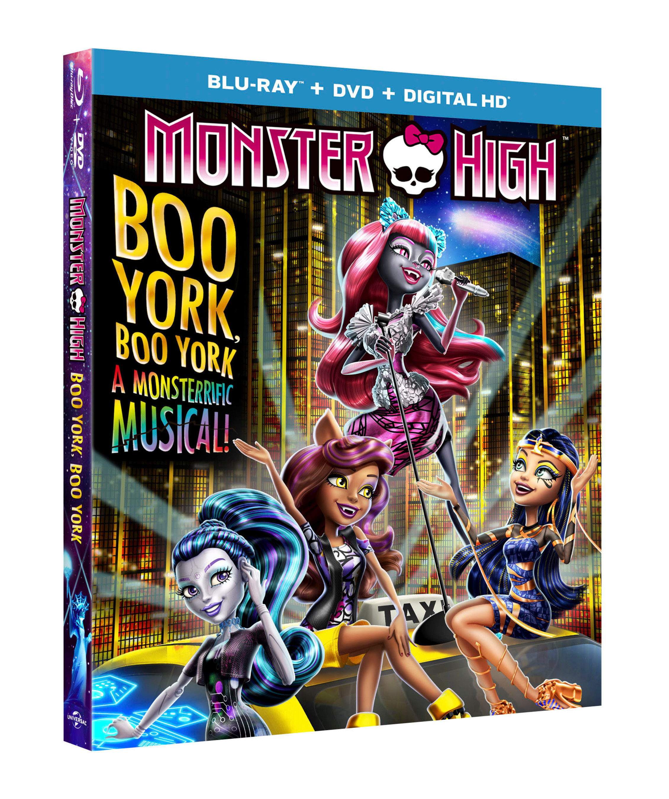From Universal Pictures Home Entertainment: Monster High: Boo York, Boo York
