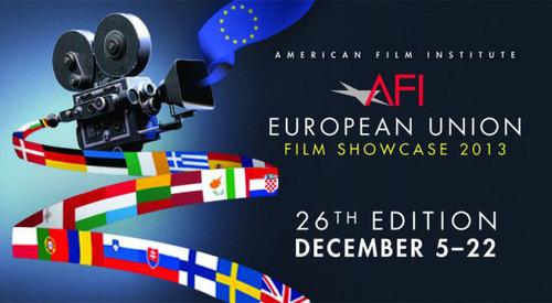 2013 AFI-EU Film Showcase logo.  (PRNewsFoto/Delegation of the European Union to the United States)