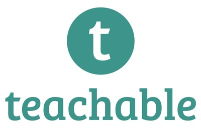 Teachable (teachable.com) Official Logo (PRNewsFoto/Teachable)