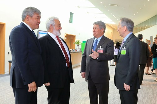 The delegation from Kazakhstan took part in the 159th General Assembly of Bureau International des Expositions ...