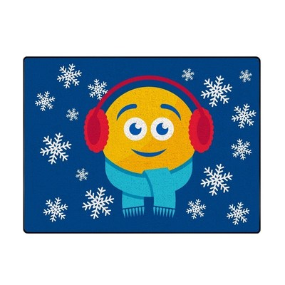 PepsiMoji Holiday collection doormat