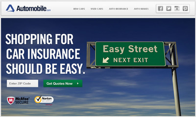 Automobile.com allows consumers to compare free car insurance quotes and choose the policy that fits best.  (PRNewsFoto/Automobile.com)