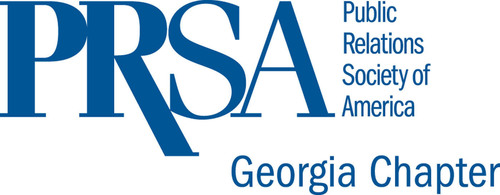 New 2012 Georgia Chapter PRSA logo.  (PRNewsFoto/PRSA/GA)