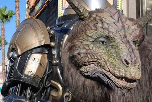 In addition to 3D printed parts, the creature integrates a variety of video and sensor technologies to offer attendees at the Comic-Con, as well as fans online, a unique interactive experience with the character (PRNewsFoto/Stratasys Ltd)