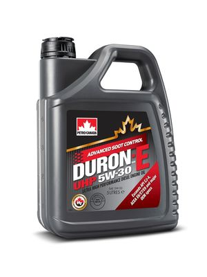 Petro-Canada Lubricants' New DURON(TM)-E UHP 5W-30 Heavy Duty Engine Oil Delivers Both Fuel Economy and Engine Protection (PRNewsFoto/Petro-Canada)
