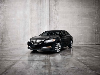 2014 Acura RLX Sport Hybrid SH-AWD: The Most Powerful and Technologically Advanced Vehicle in Acura History to be Showcased at LA Auto Show.  (PRNewsFoto/Acura)