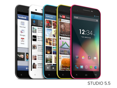 Studio 5.5.  (PRNewsFoto/BLU Products)