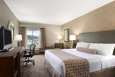 All new guestroom at the Crowne Plaza Columbus - Dublin Hotel