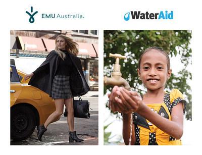 EMU Australia Partners with WaterAid