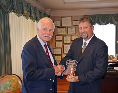 Media Industry Legend Ted Turner Honored at Digital Place-based Advertising Association's 5th