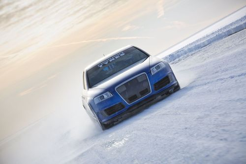 Nokian Tyres Fastest on Ice. The new world record for fastest car on ice was achieved by Nokian Tyres, when ...