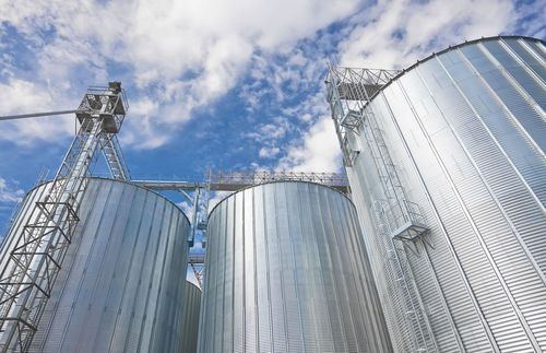 Ruukki's Z600 metal coating is suitable for applications requiring excellent corrosion resistance. It can be used in applications such as silos (PRNewsFoto/Ruukki)