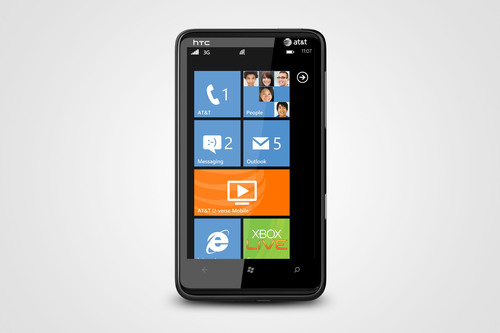 Big Screen, Big Entertainment: HTC and AT&T Introduce the HTC HD7S Smartphone