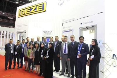 GEZE Showcases Latest Technologies to Enhance Accessibility, Safety and Security Systems for Doors and Windows at the Big 5 Exhibition